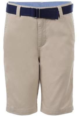 Chaps Belted Flat Front Short (Little Boys & Big Boys)
