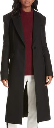 Tibi Luxe Tuxedo Coat