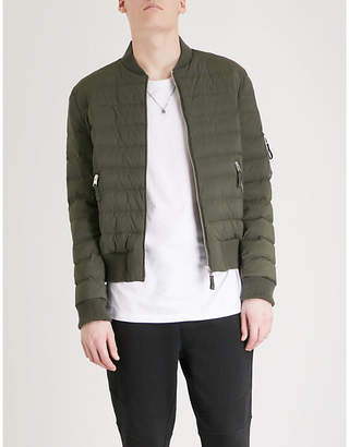 The Kooples Quilted shell down jacket