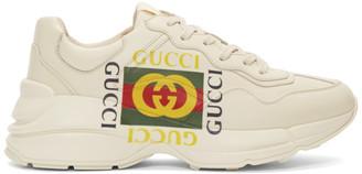 Gucci Off-White Box Logo Ryhton Sneakers