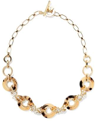 Banana Republic Tortoise Rings Necklace