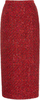 Alessandra Rich Sequined Tweed Skirt Size: 36