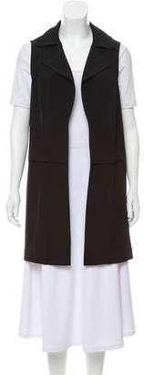 Calvin Klein Longline Open Front Vest w/ Tags