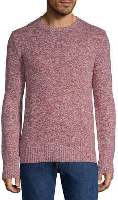 ST. JOHN'S BAY Crew Neck Long Sleeve Pullover Sweater