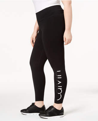 Calvin Klein High-Rise Logo Leggings