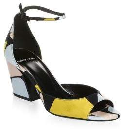 Pierre Hardy Calamity Ankle-Strap Sandals