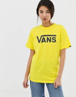Vans Bright Yellow Classic Logo T-Shirt