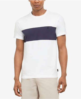 Kenneth Cole New York Men Colorblocked T-Shirt