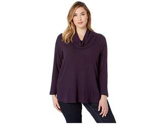 Karen Kane Plus Plus Size Cowl Neck Sweater