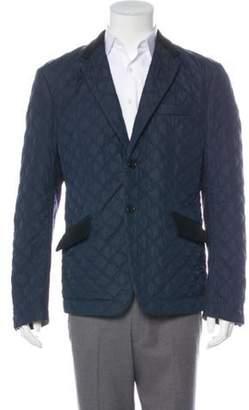 Junya Watanabe Comme des Garçons MAN Quilted Colorblock Sport Jacket navy Comme des Garçons MAN Quilted Colorblock Sport Jacket
