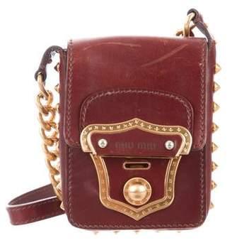 Womens Studded Cross Body Bag - ShopStyle 77e8e52b81394