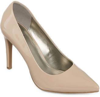 WORTHINGTON Worthington Womens Zoe Pumps Slip-on Closed Toe Stiletto Heel