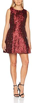Joe Browns Women's Jazzy Jacquard Dress Party (Red A)