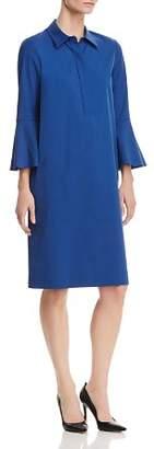 Lafayette 148 New York Lunella Bell-Sleeve Shirt Dress - 100% Exclusive