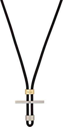 Damiani Bliss By Stainless Steel & 18k Gold Mistral Cord Necklace, 19 in.