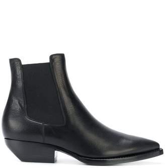 Saint Laurent pointed toe Chelsea boots
