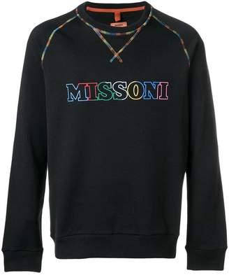 Missoni logo sweater