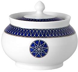 Royal Limoges Blue Star Sugar Bowl