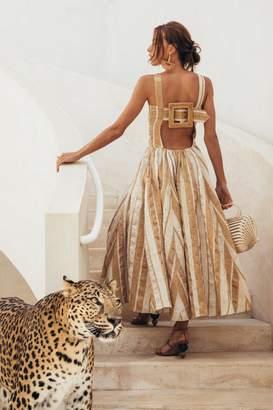 Cult Gaia Angela Dress - Natural Stripe (PREORDER)