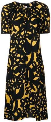 Marni bold print dress