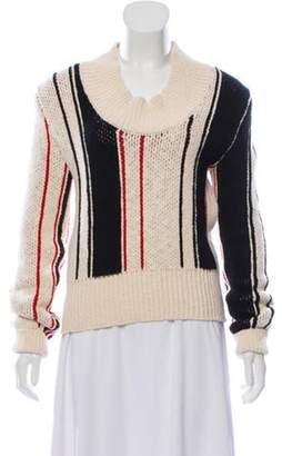 J.W.Anderson Heavy Striped Sweater black Heavy Striped Sweater