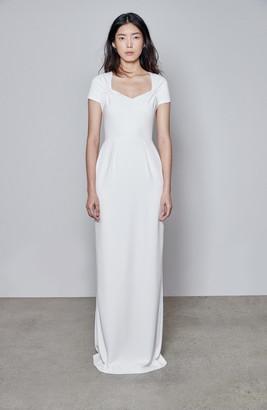 Stella McCartney F18 Rose Cap Sleeve Wedding Dress
