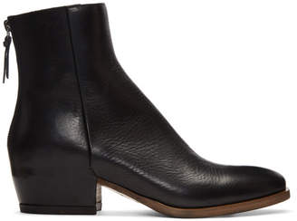 Givenchy Black GB3 Zip Boots