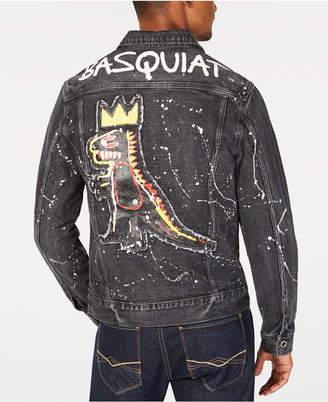 Sean John Men Basquiat Pez Denim Jacket