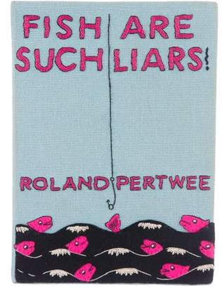 Olympia Le-Tan Fish Are Such Liars Book Clutch