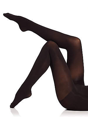 Natori Women's Velvet Touch Opaque Control Top Tights
