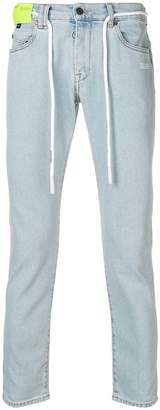 Off-White low rise skinny jeans