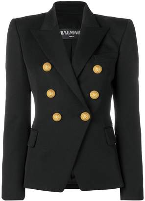 Balmain structured fit blazer