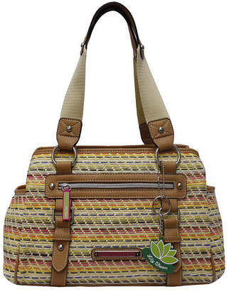 LILY BLOOM Lily Bloom Triple Section Landon Satchel