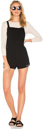 Wildfox Couture Sun Sand Sea Short Overall Romper in Black $88 thestylecure.com