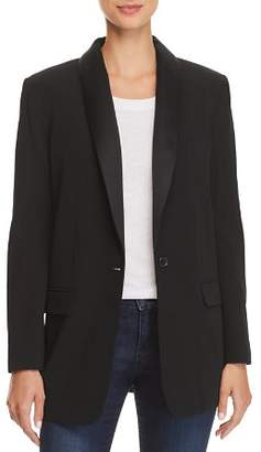 Equipment Quincy Tuxedo-Style Blazer