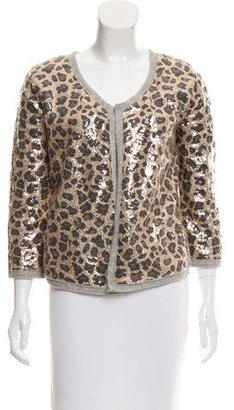 Calypso Embellished Open-Front Jacket