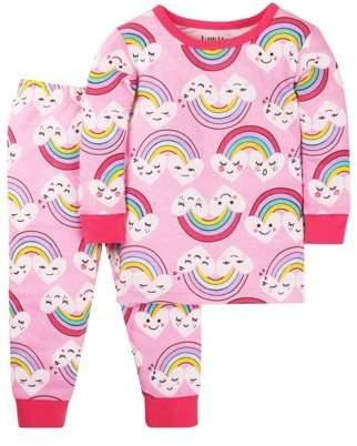 Little Star Organic Cotton Tight Fit Pajamas, 2-piece Set (Baby Girls & Toddler Girls)