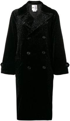 Comme des Garcons brocade double breasted coat