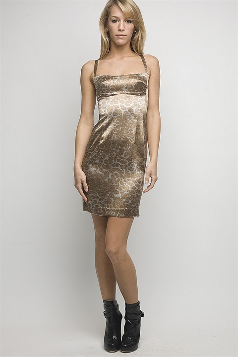 Jay Godfrey Vanessa Siren Dress, Leopard