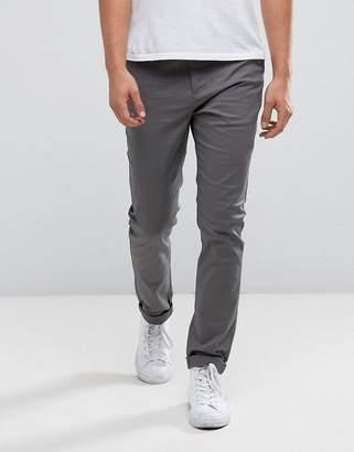 Asos Design DESIGN skinny chinos in grey