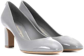 Salvatore Ferragamo Patent leather pumps