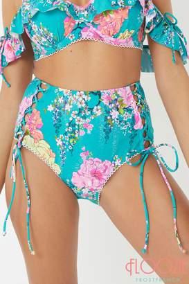 Next Womens Floozie Floral High Waist Bikini Briefs