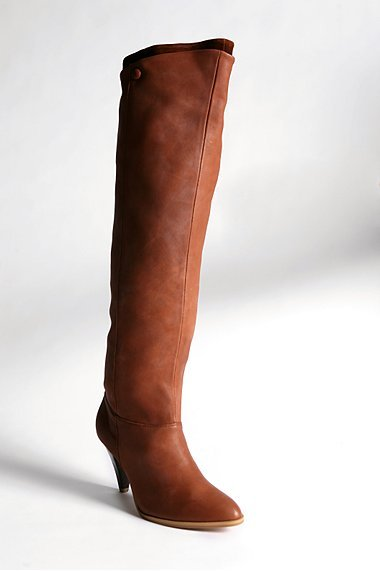 Corsair Leather Over-The-Knee Boot