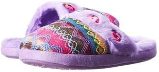M&F Western Kids Knit Print Slide Slippers Girls Shoes