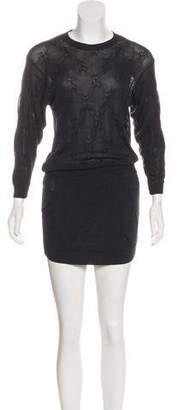 Theyskens' Theory Silk Sweater Dress