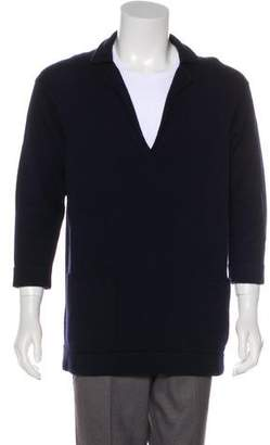 Chanel Cashmere V-Neck Sweater