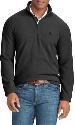 Chaps Big Tall Fleece Half-Zip Pullover