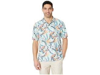 Tommy Bahama Break Wave Fronds Hawaiian Camp Shirt
