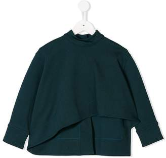 Marni asymmetric-style sweatshirt
