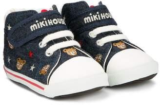Mikihouse Miki House Teddy sneakers